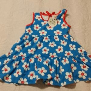 NWT Wild Flowers Girls Floral Dress Size 8